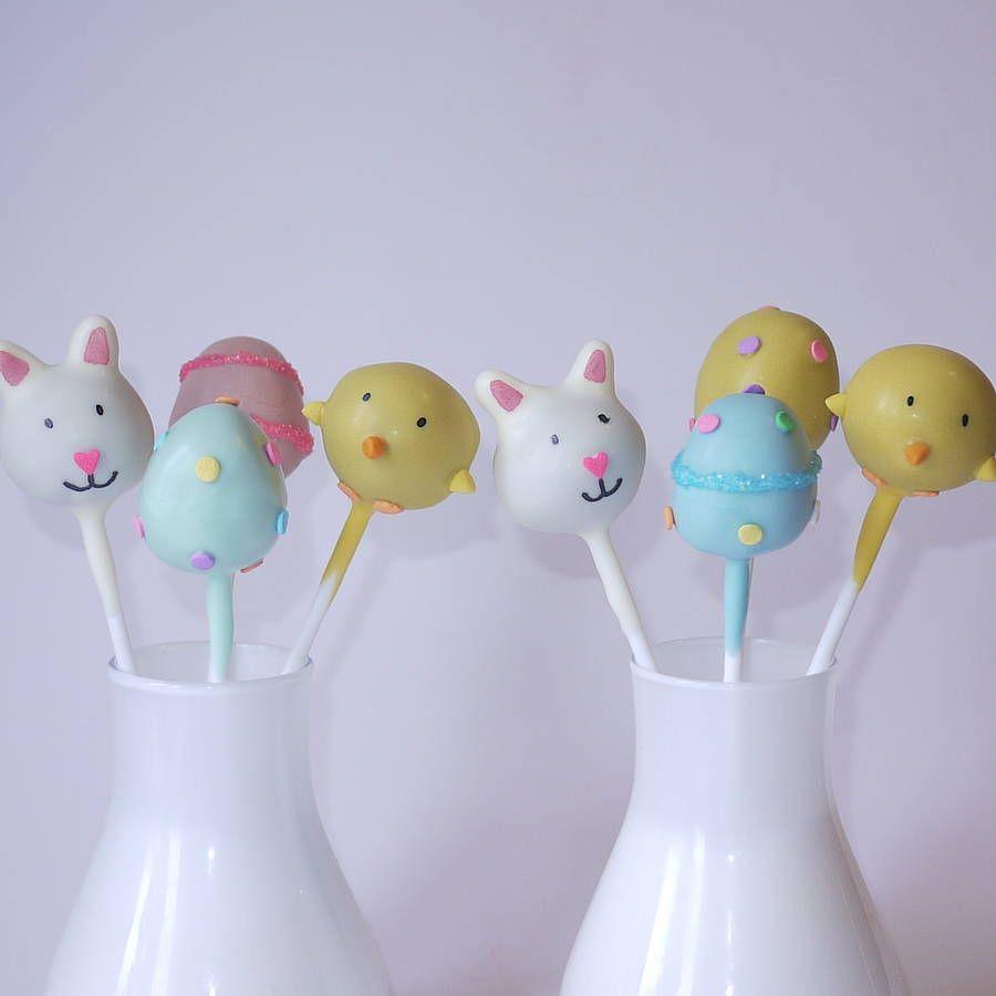 Easter Cake Pops Pinterest
