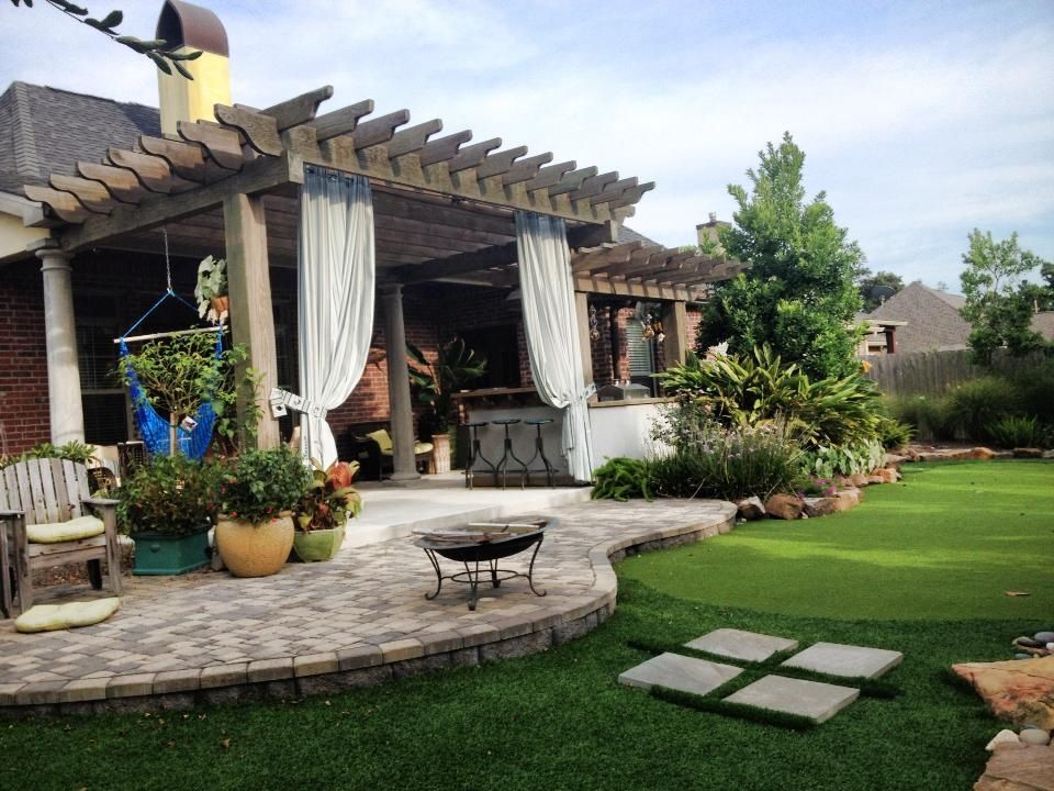 backyard oasis outdoor beautification pinterest