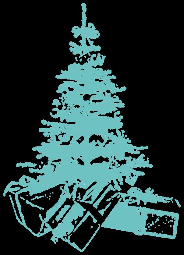 おしゃれ メリークリスマスツリー クリスマス イラスト 無料