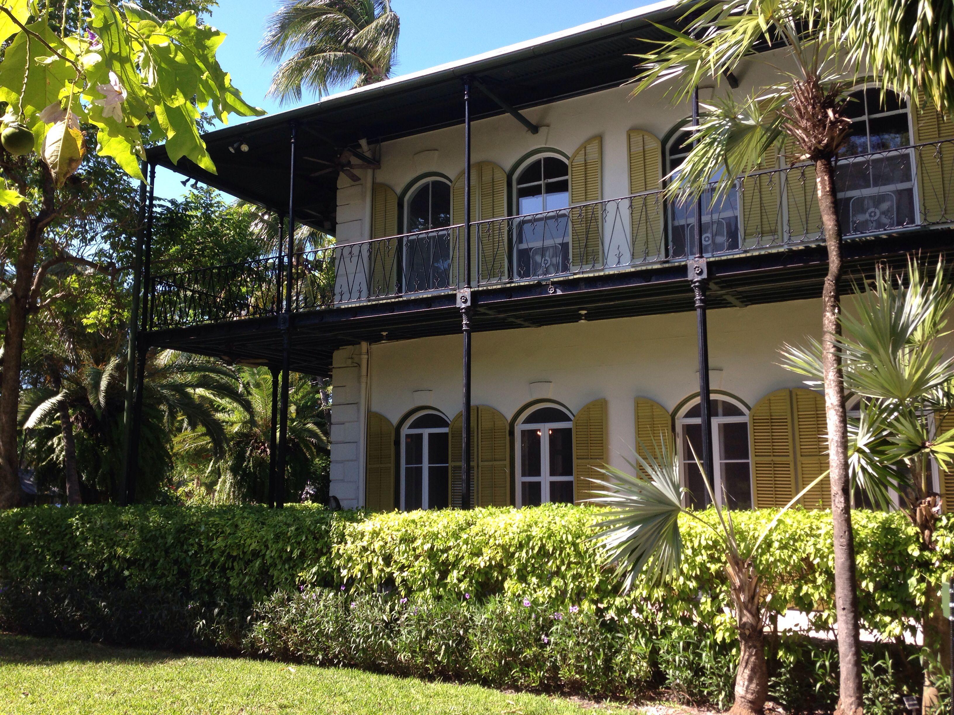 Ernest Hemingway House In Key West Ernest Hemingway