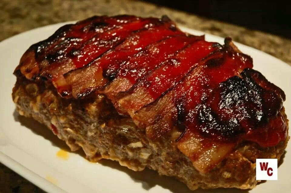 Bacon Wrapped Meatloaf | Recipes/Ideas | Pinterest