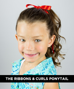 The Ribbons & Curls Ponytail Tutorial