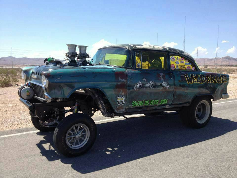 Welderup 55 Chevy Gasser Rb 50 S Chevy Gassers Pinterest