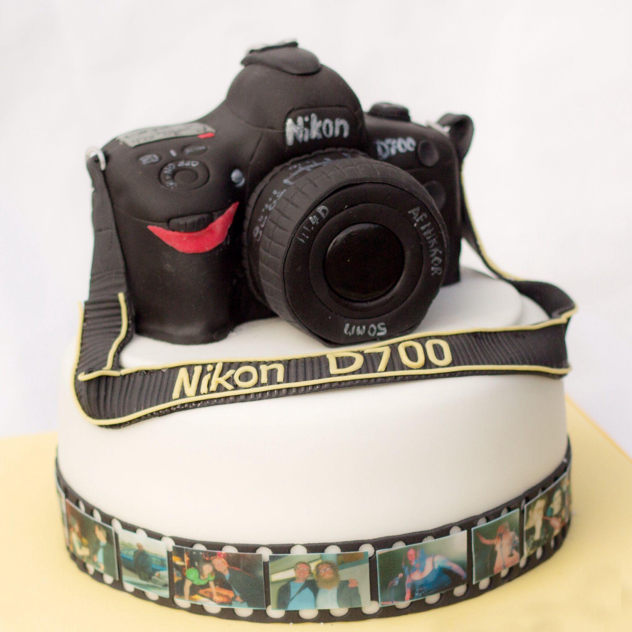 Nikon camera cake Cake Pinterest