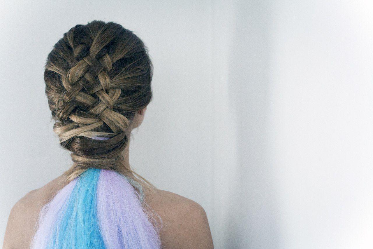 Unicorn Braid Hair Amp Makeup Pinterest