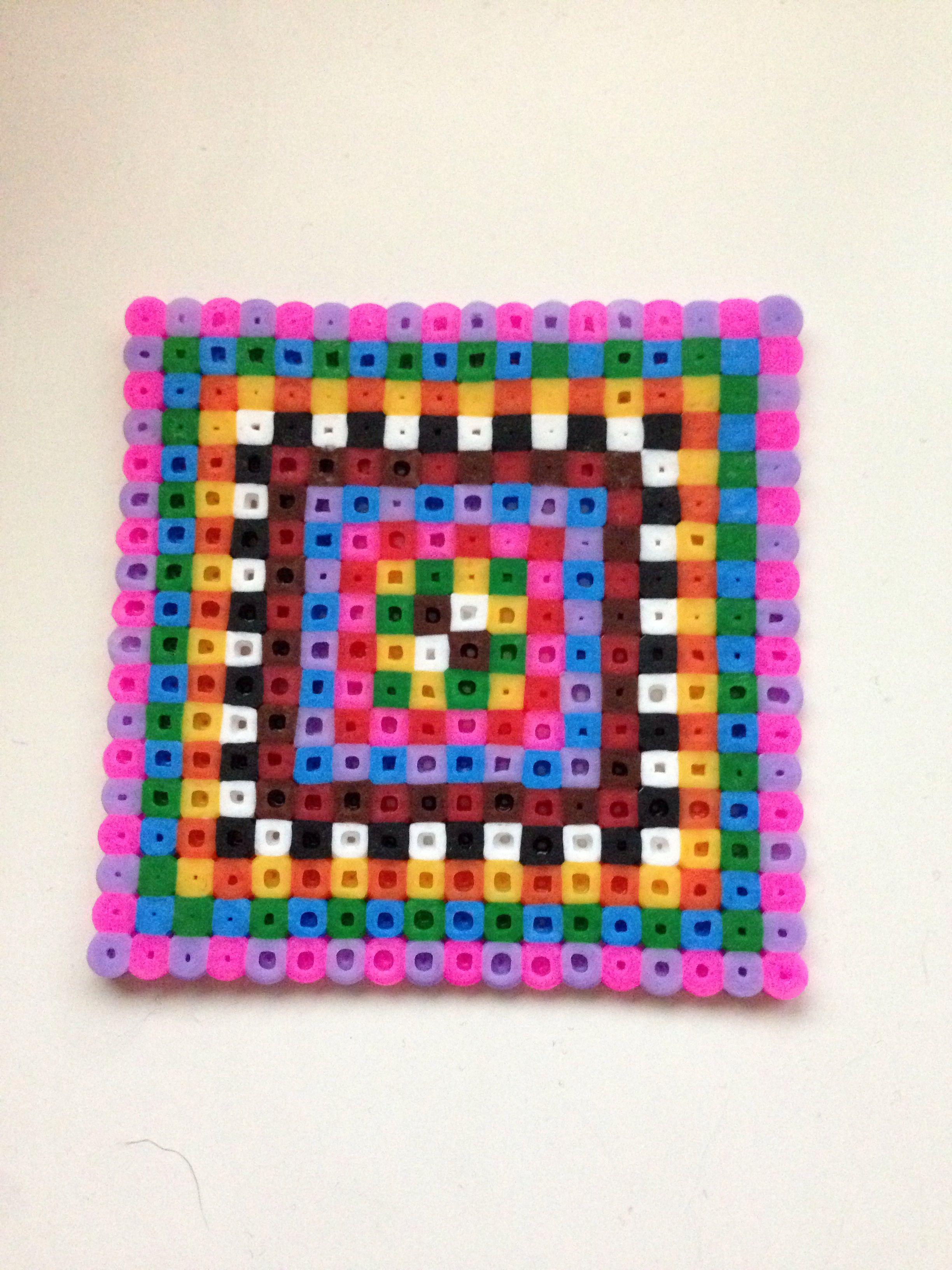perler coaster perler bead patterns