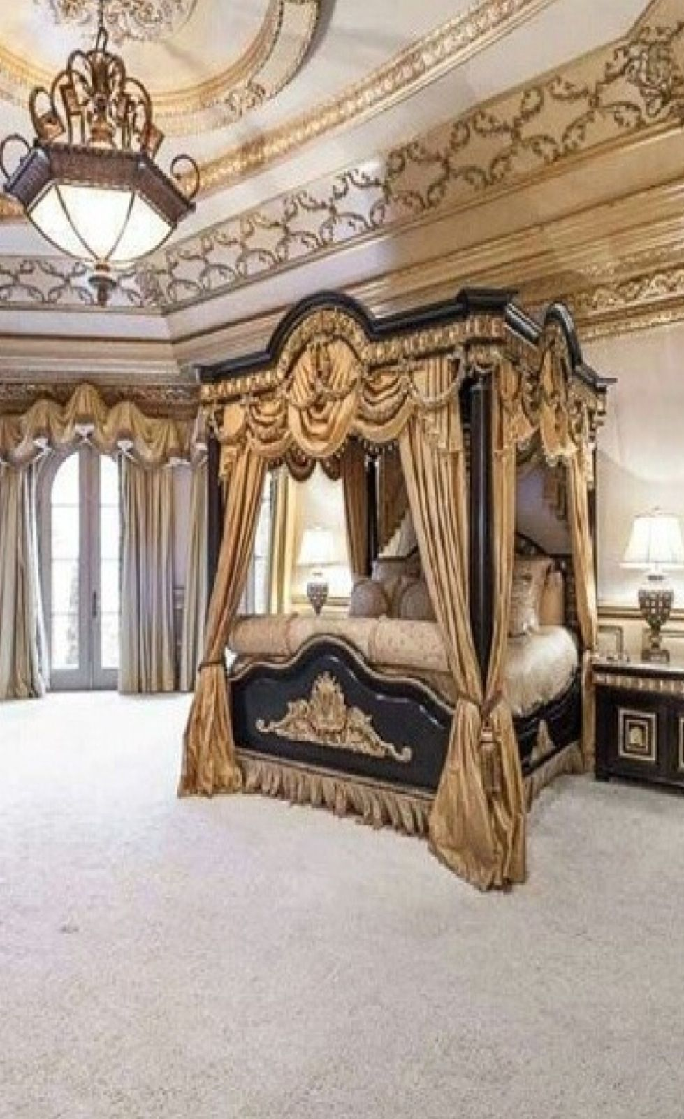 Luxurious Bedroom Enchanting Decorating Design