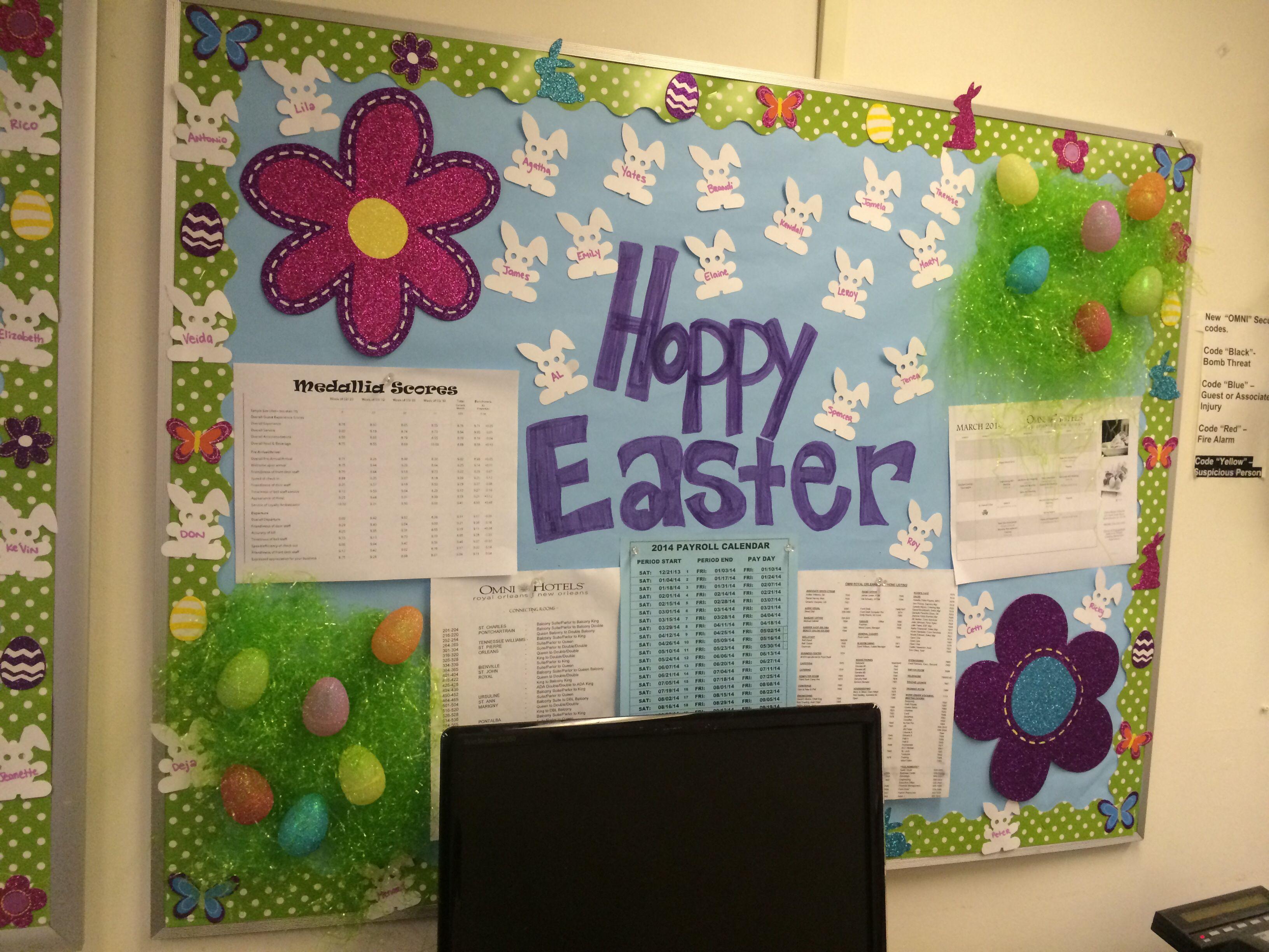 Easter bulletin board bulletin board ideas pinterest
