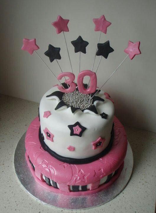 30th cake idea birthday ideas pinterest for 30th birthday cake decoration