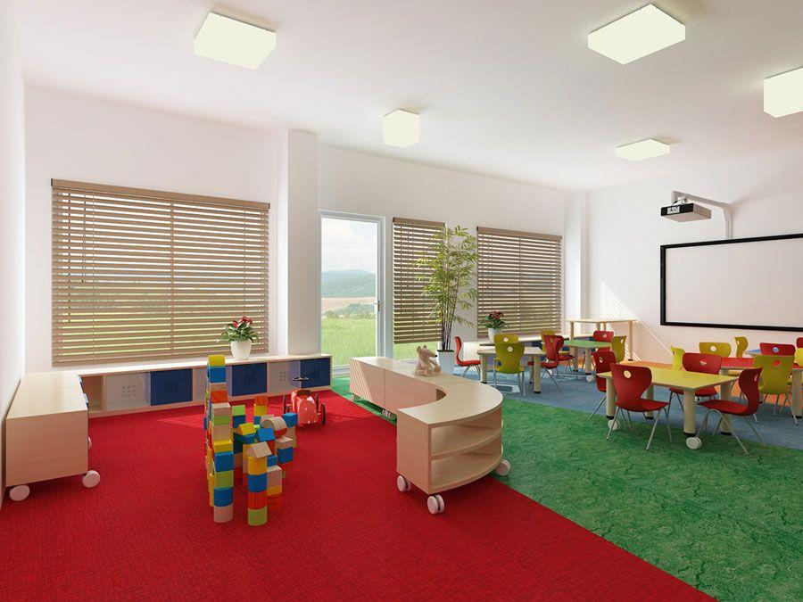 The model project of interior design | Kindergarden