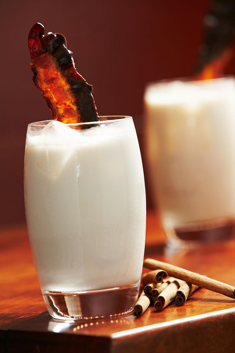 Bourbon Milk Punch | My Favorite Things | Pinterest