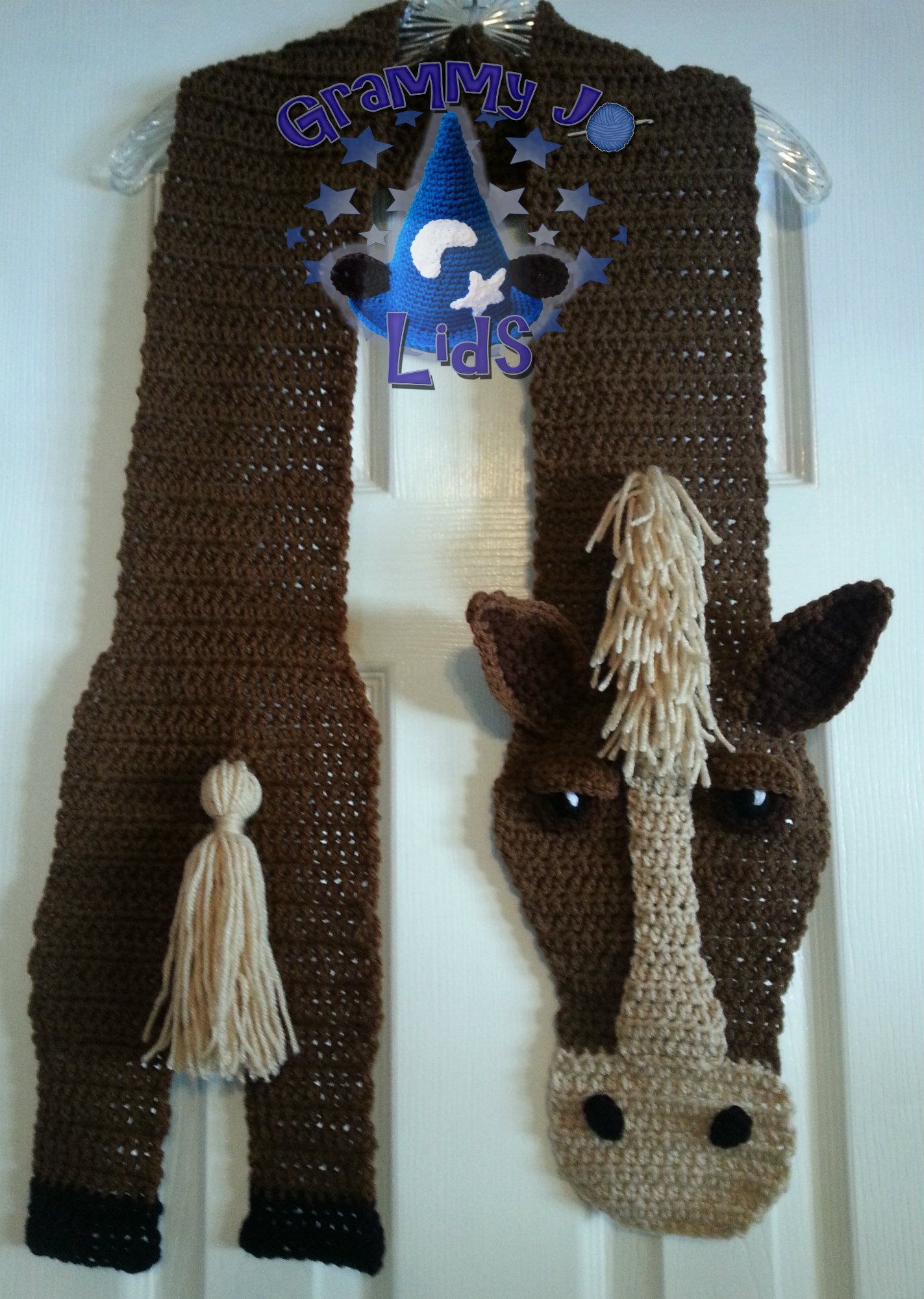 crochet horse scarf Crochet Pinterest
