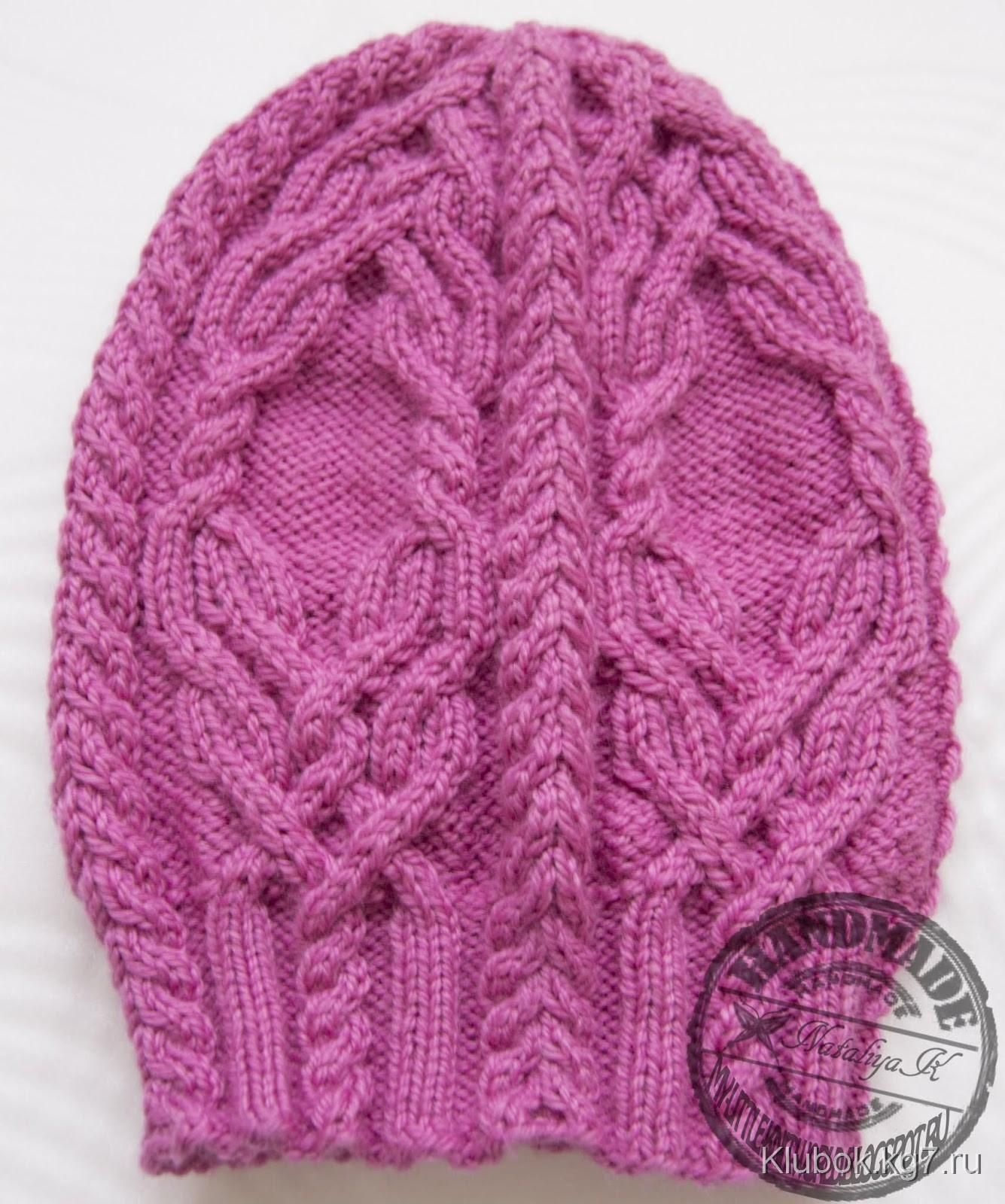 Дневник для вязания зимняя шапка