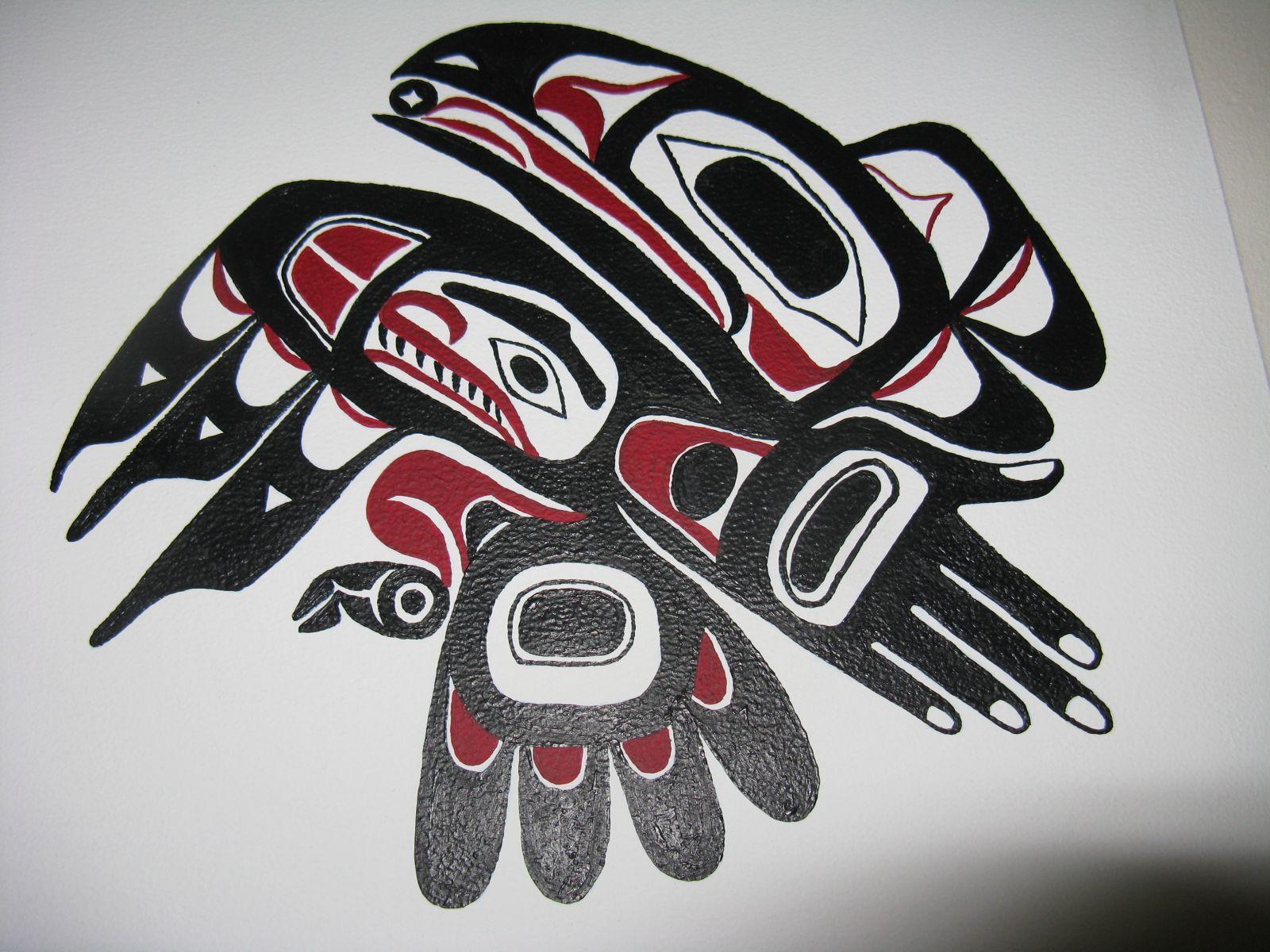 pin haida eagle made at tattoo you studio em so paulo brazil on pinterest. Black Bedroom Furniture Sets. Home Design Ideas