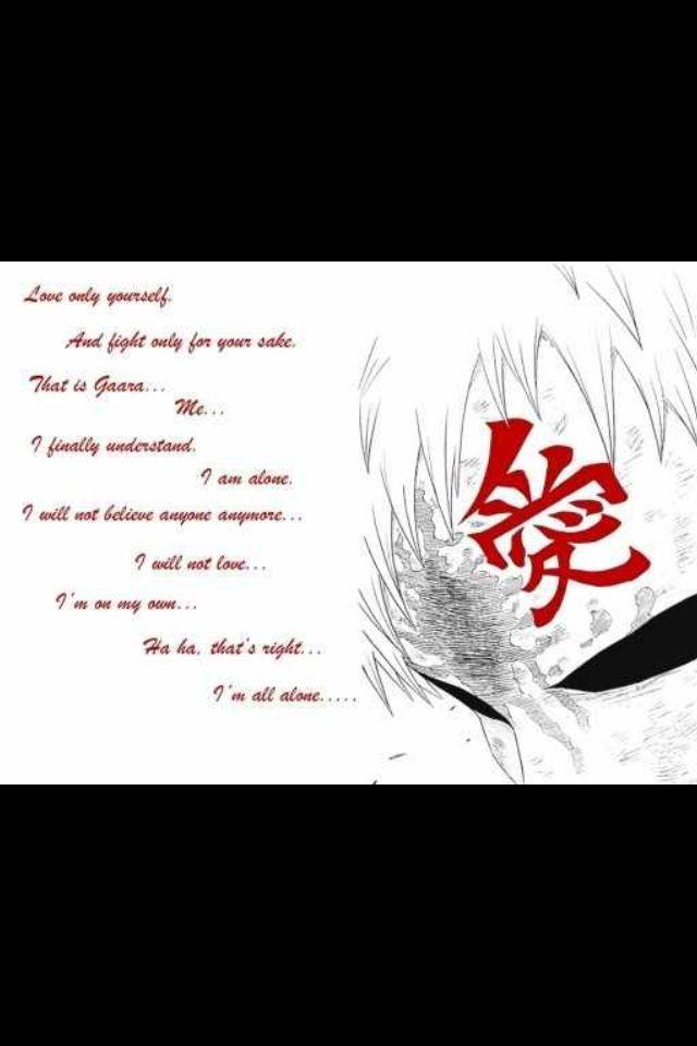 gaara quotes quotesgram
