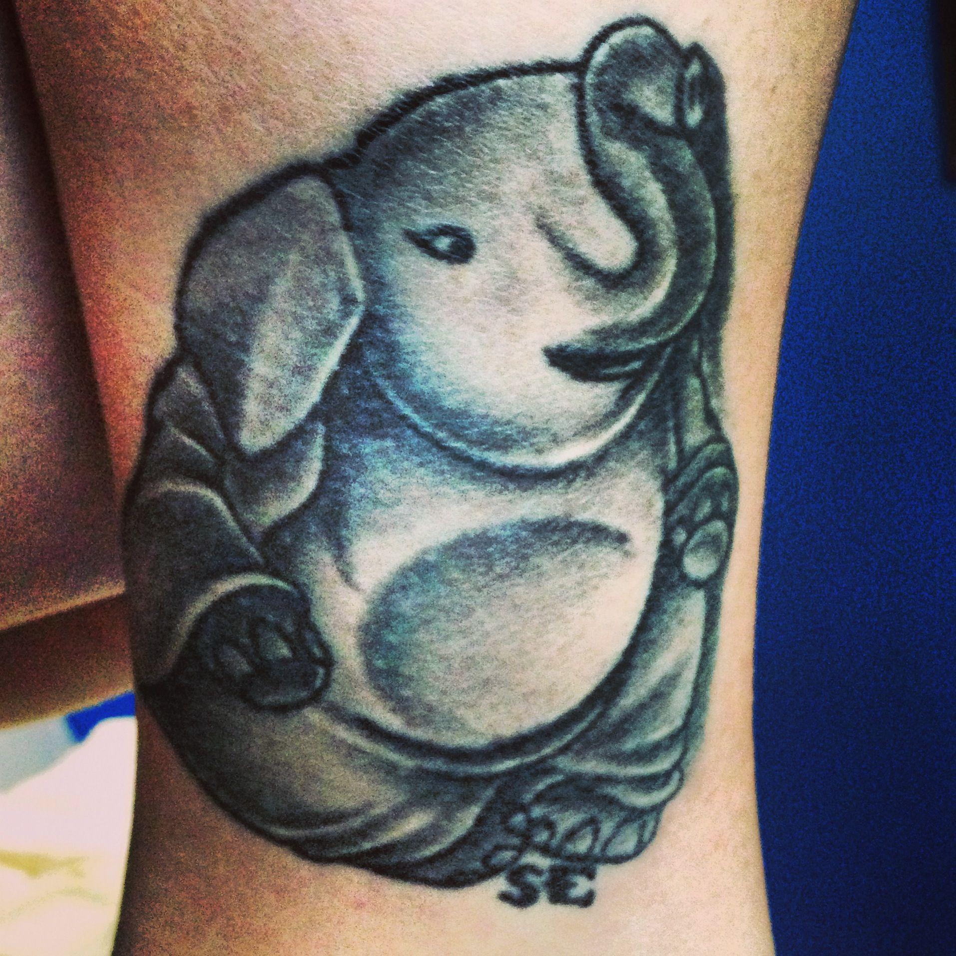 Buddhist Elephant Tattoo Meaning