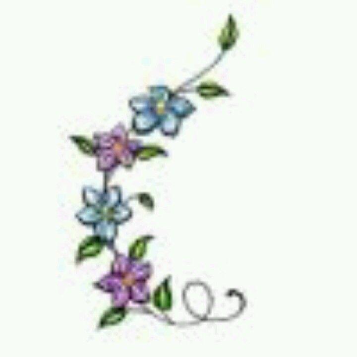 larkspur flower tattoo my style pinterest. Black Bedroom Furniture Sets. Home Design Ideas