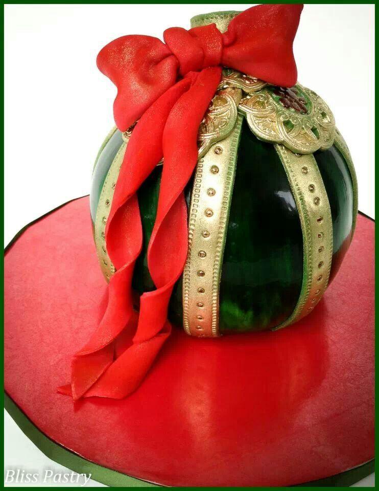 Beautiful Christmas cake Sugar Art Pinterest