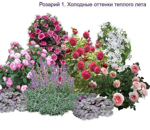 Схемы розария своими руками