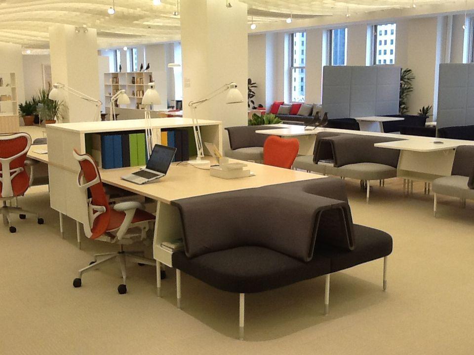 Herman miller showroom work environments pinterest - Herman miller home office furniture ...