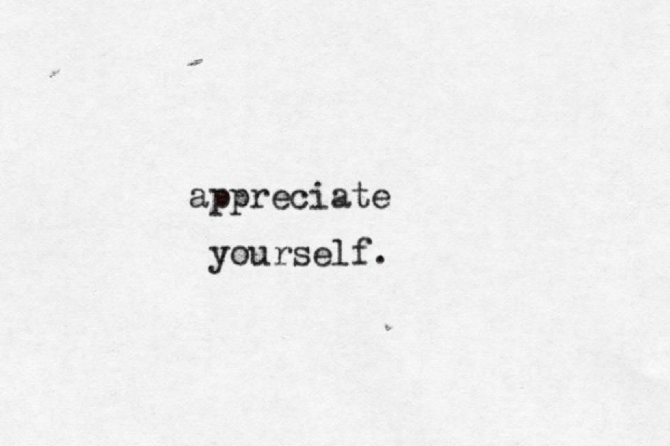 M Bel Leitzgen appreciate yourself quotes to live by and