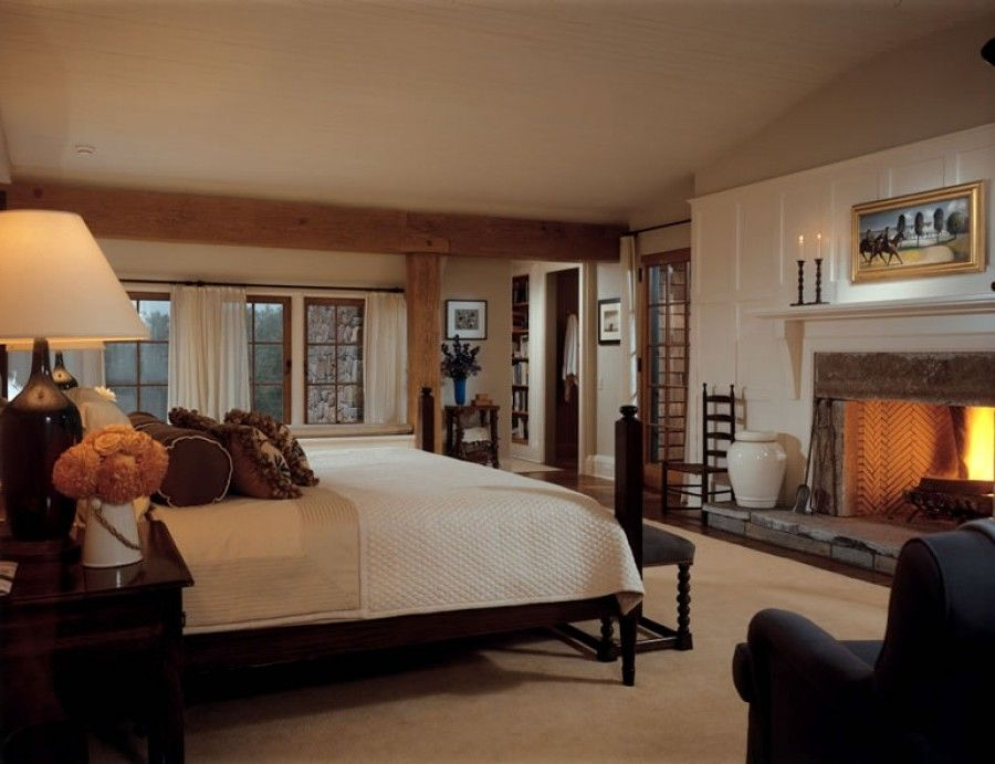 Nice Country Style Master Bedroom Home Pinterest
