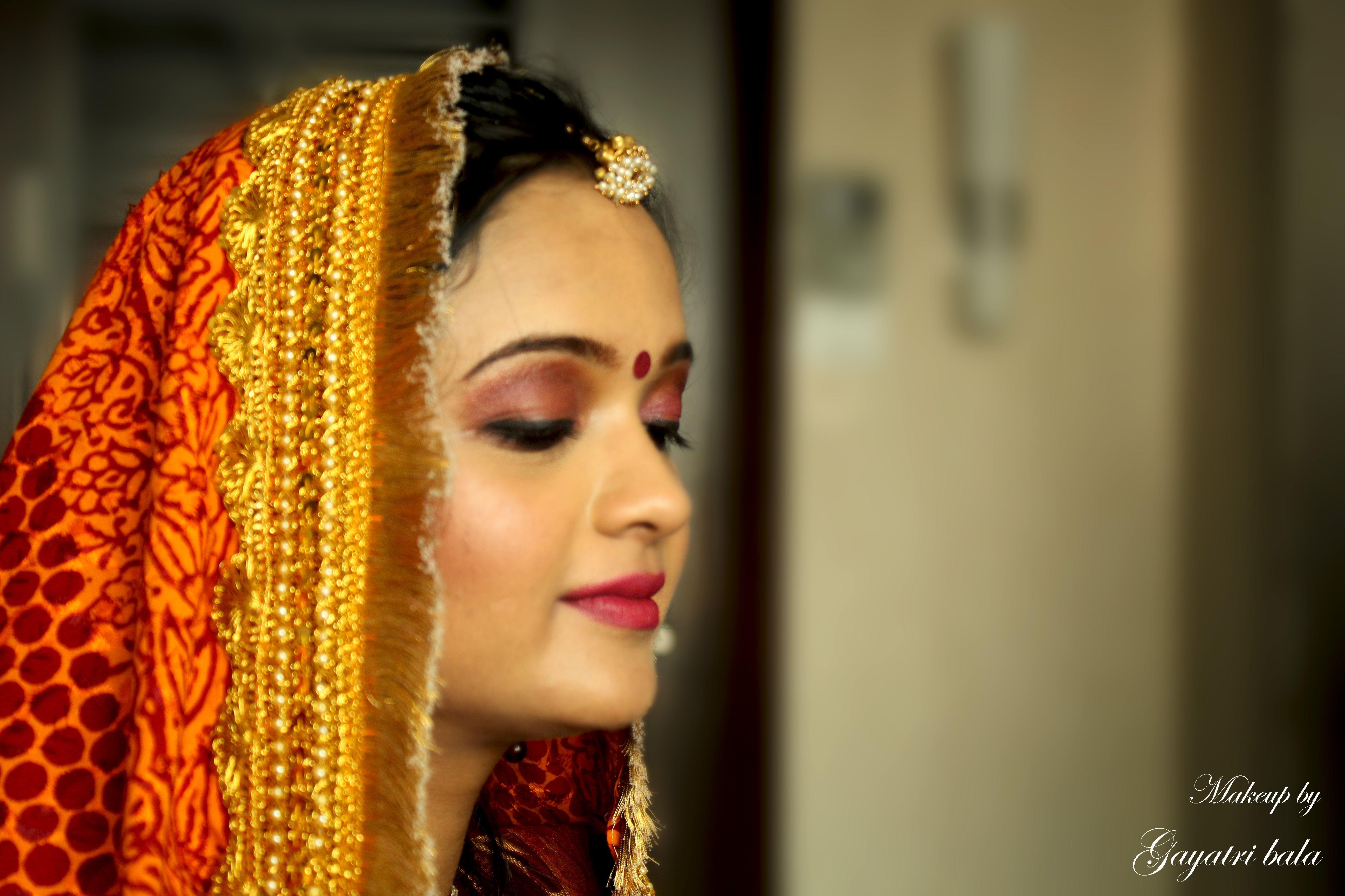 North Bridal Makeup Pictures : north indian bridal...kumauni bride... Makeup By Gayatri ...