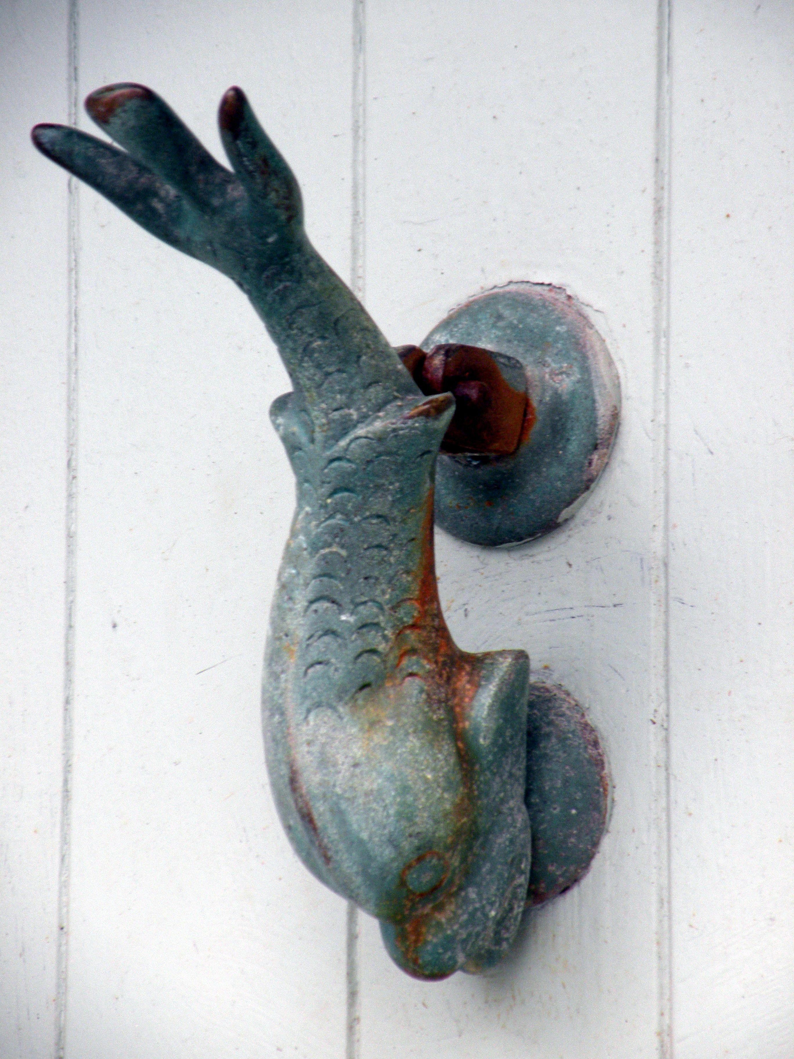 Door knocker dolphin door details pinterest - Dolphin door knocker ...