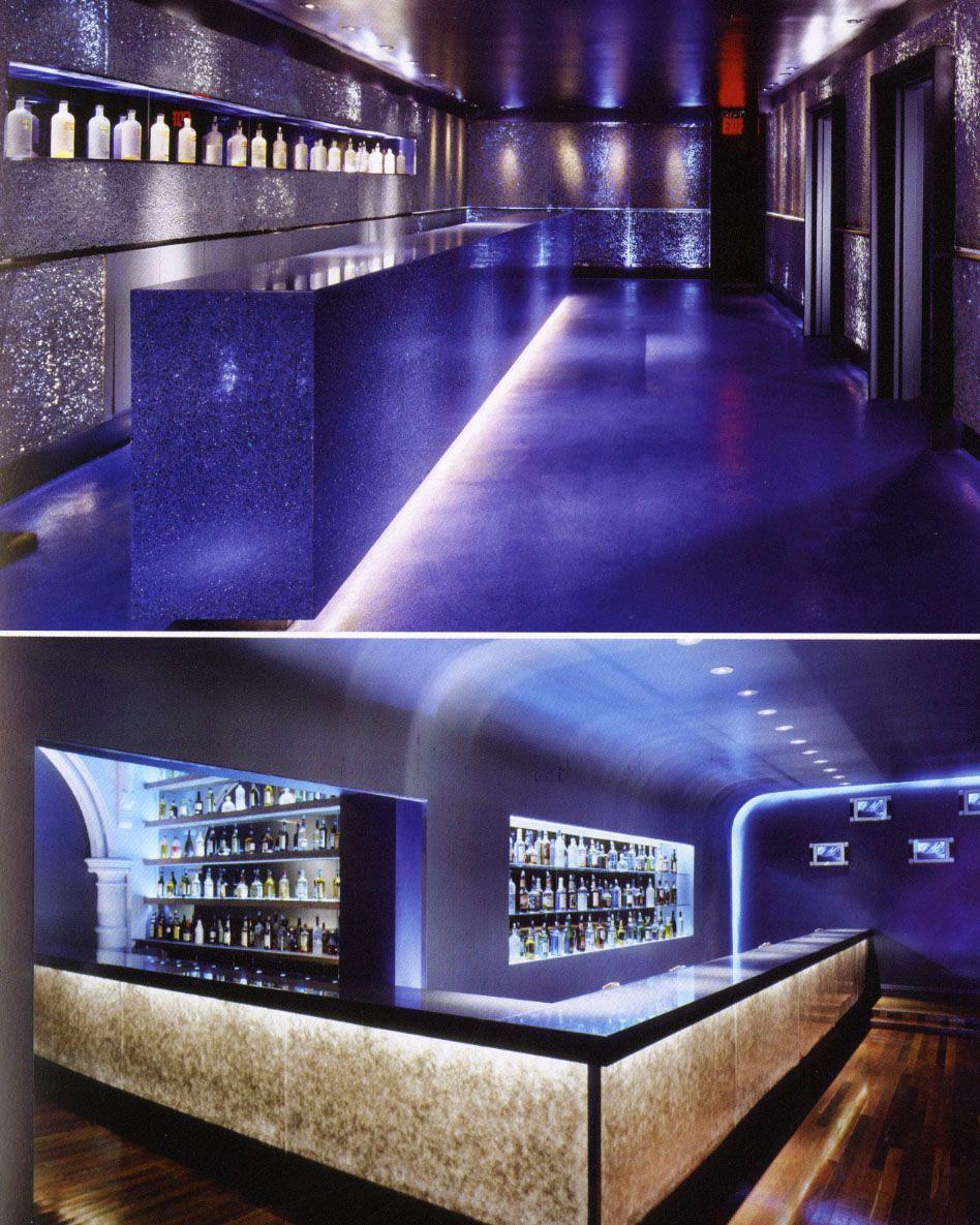 không gian bên trong  quan bar
