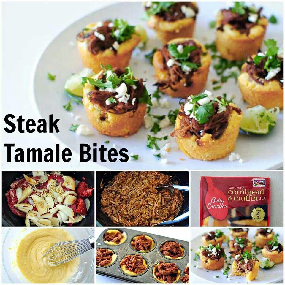 Tamale Bites Recipe — Dishmaps