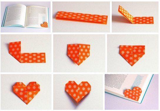 Как сделать закладки из бумаги для учебников 306
