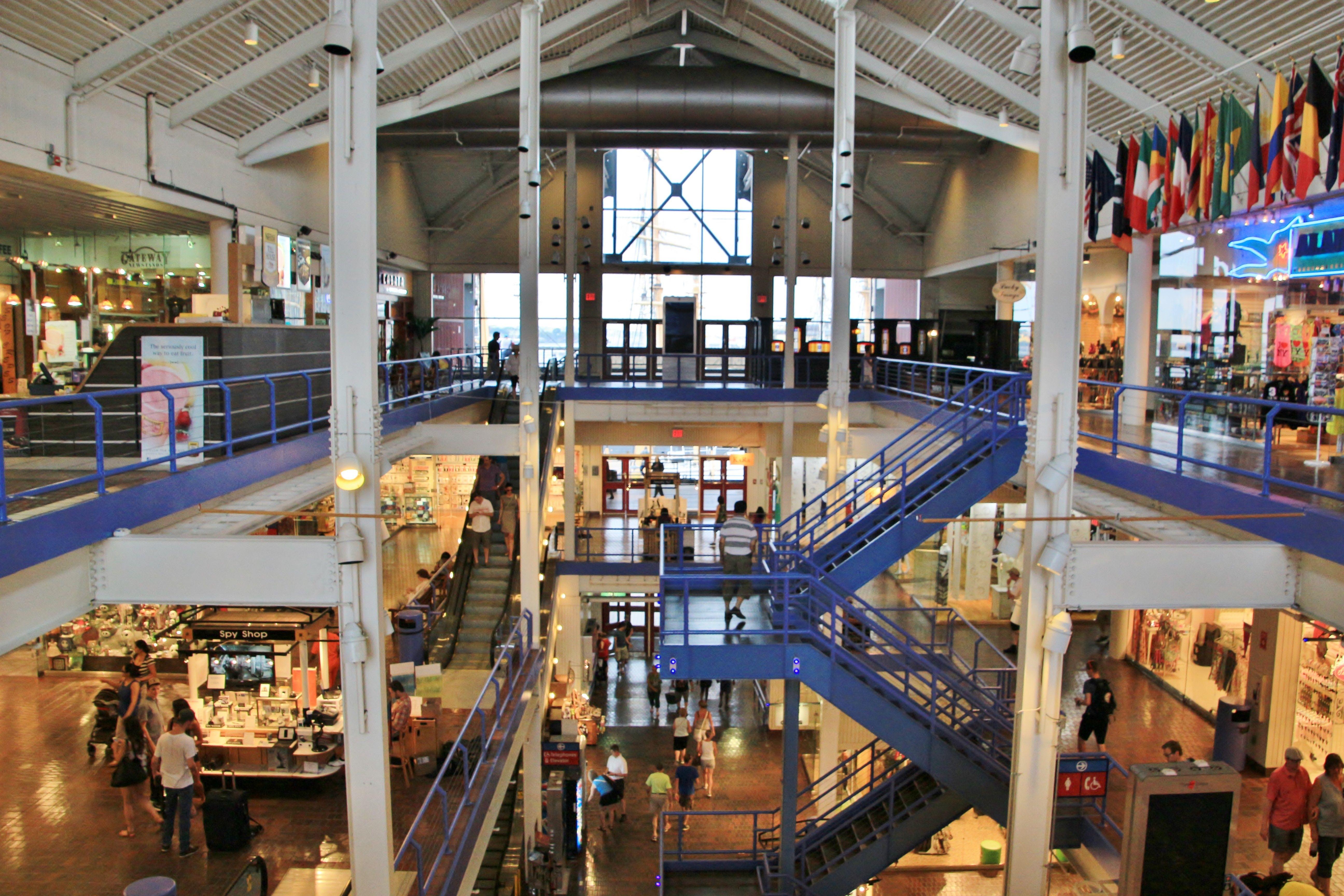 South Street Seaport Piet 17 Mall