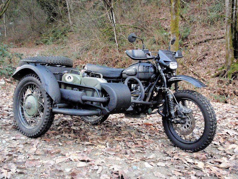 Мотоцикл урал для туризма своими руками 38