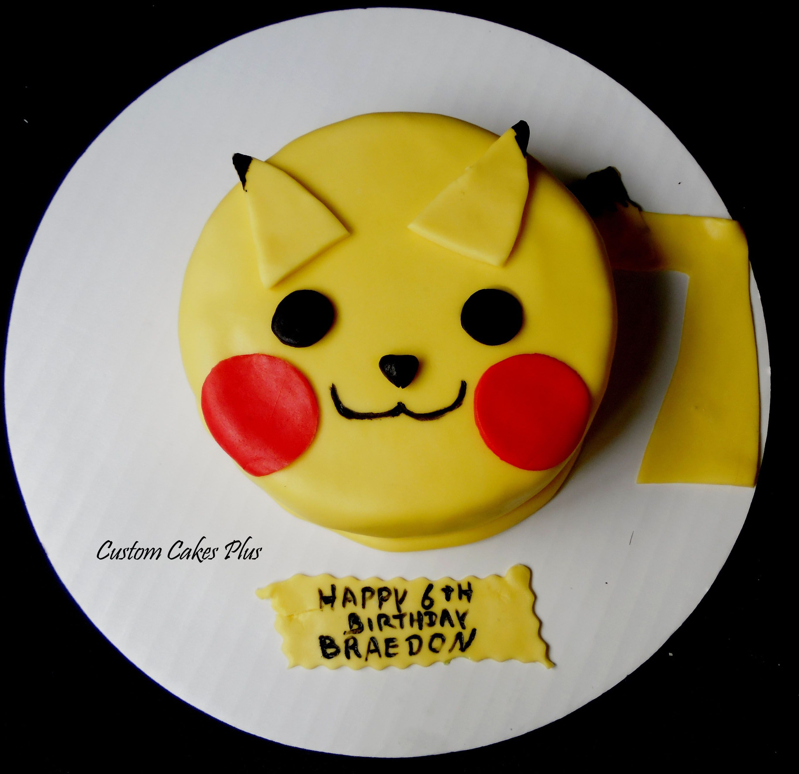 Pikachu Birthday Cake Pikachu Birthda...