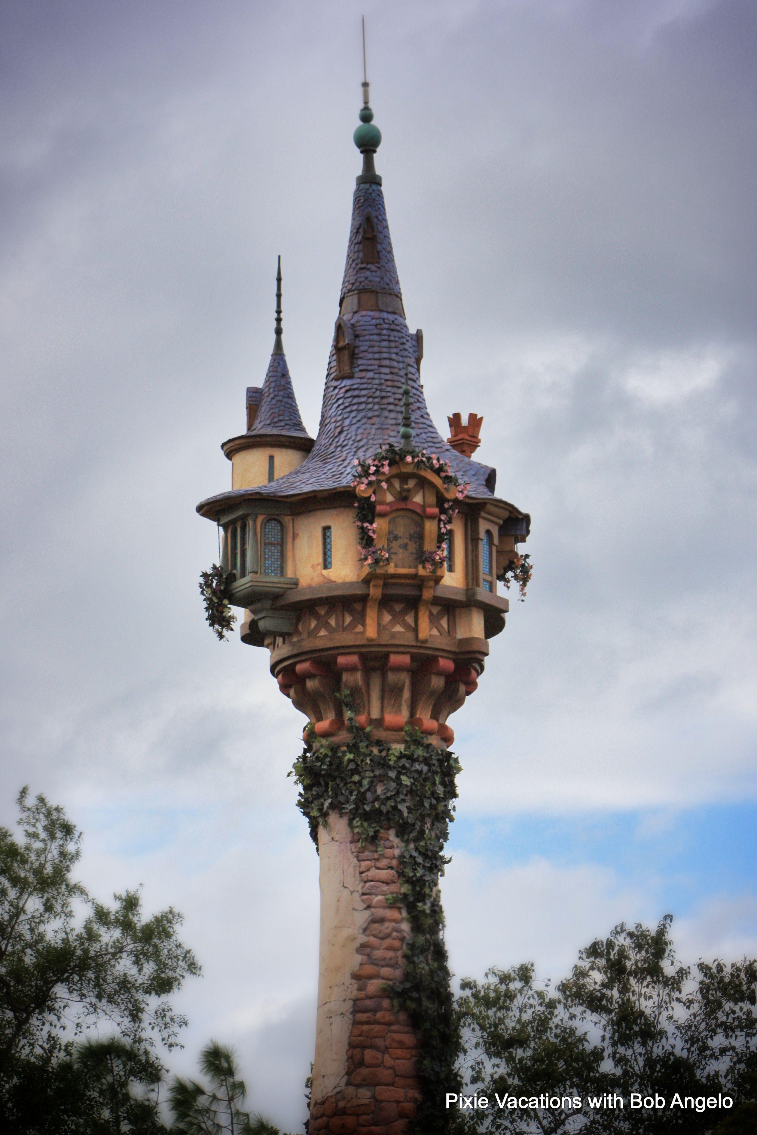 Rapunzel S Tower Newfantasyland My Travel Photos Pinterest