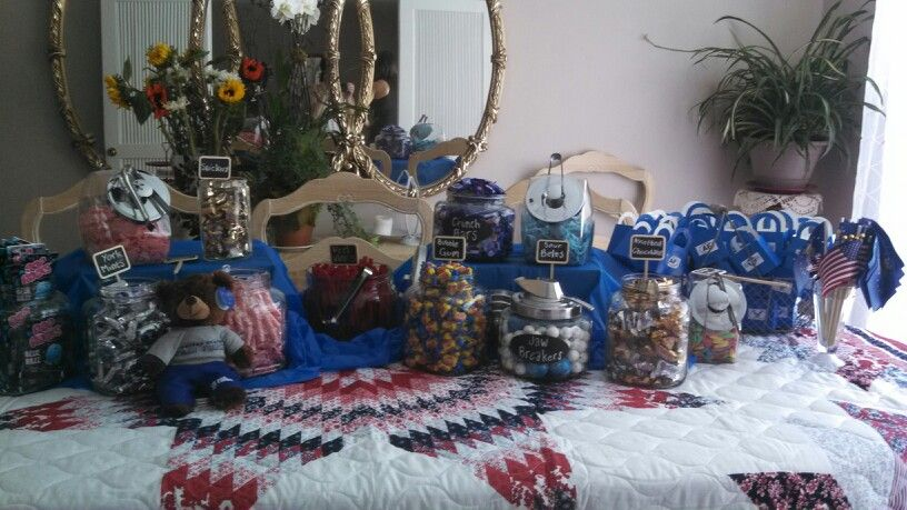 Candy bar patriotic air force party deployment pinterest for Decor 6 form air force
