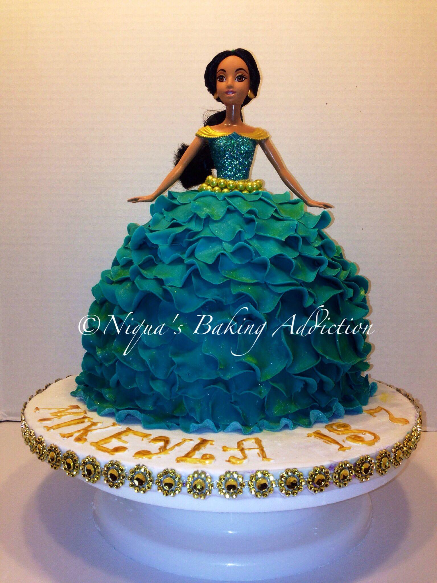 Disney Princess Jasmine cake My Board Pinterest