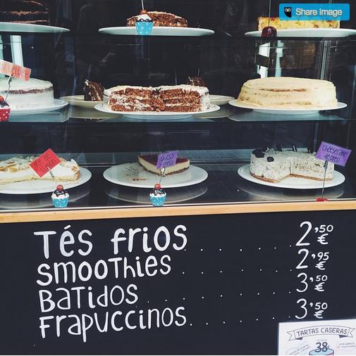 Cafetería y confitería la Cocina de mi Vecina Madrid (Malasaña)