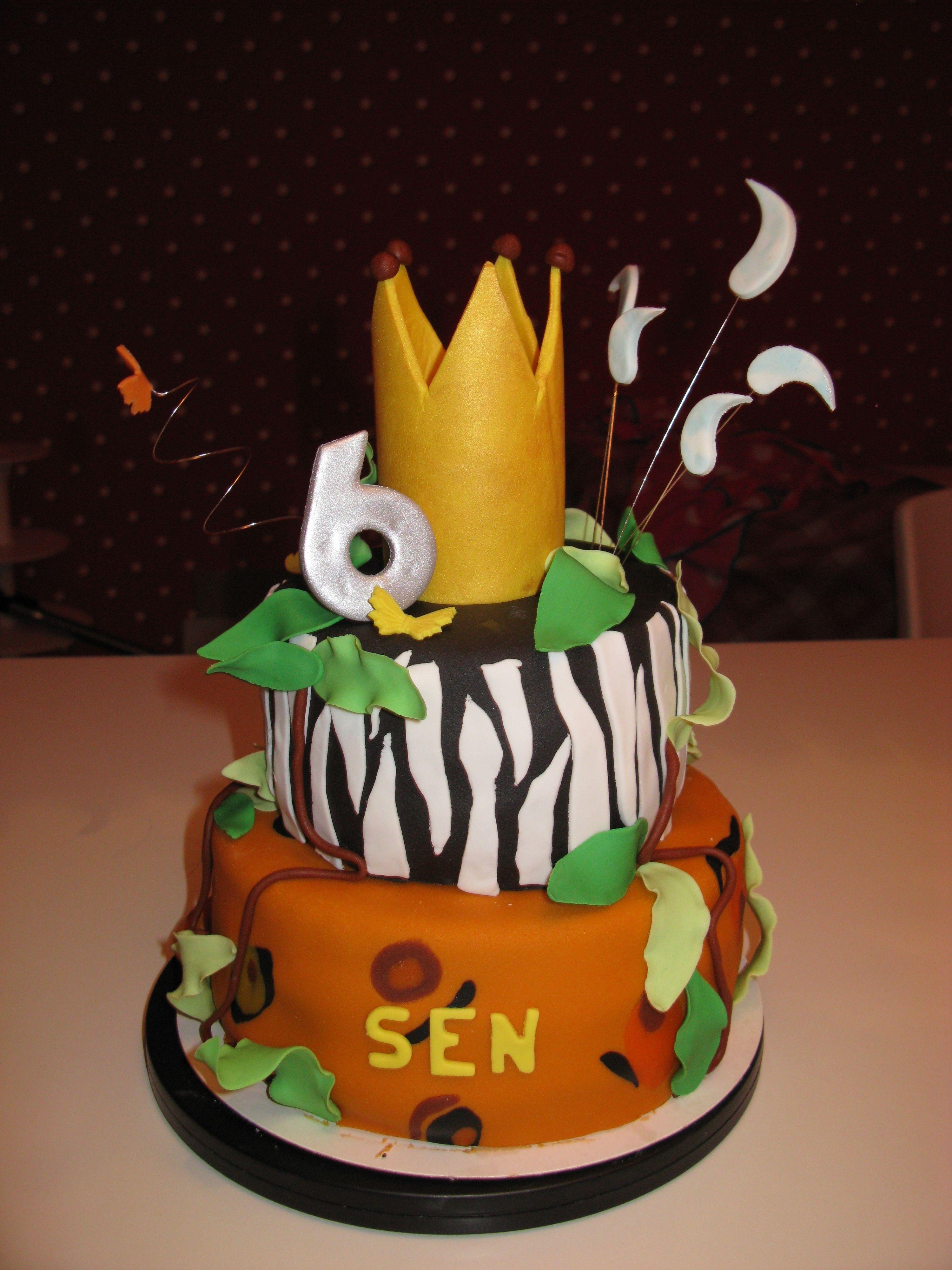 Lion king birthday cake Emma s birthday Pinterest