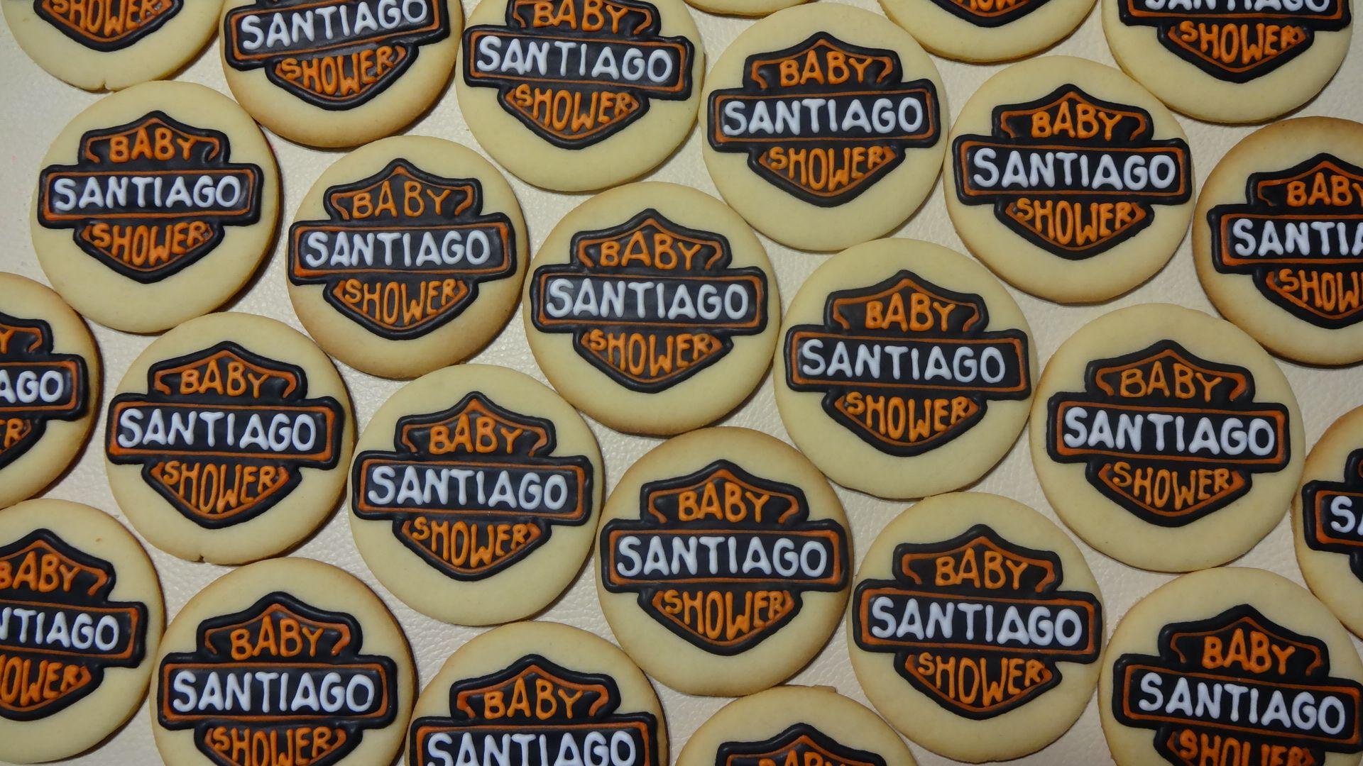 harley davidson baby shower cookies mis galletas decoradas my de