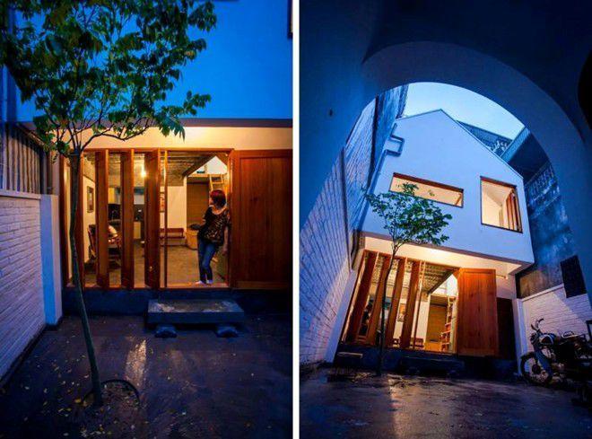 Không gian tuy đóng mà mở kết hợp cùng những nét kiến trúc Việt Nam hiện hữu, độc đáo.