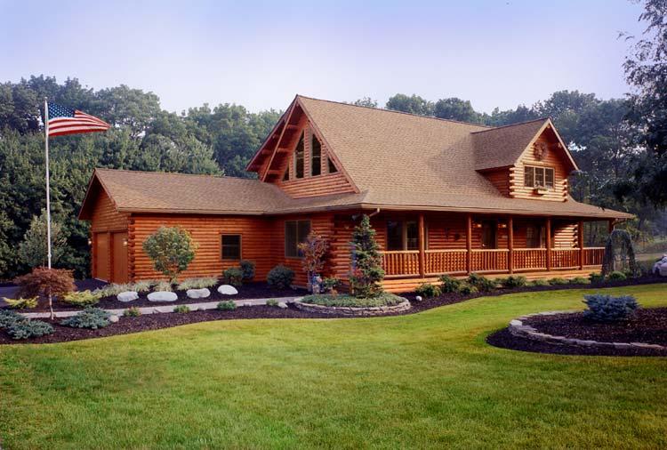 Beautiful Log Home Log Homes Pinterest