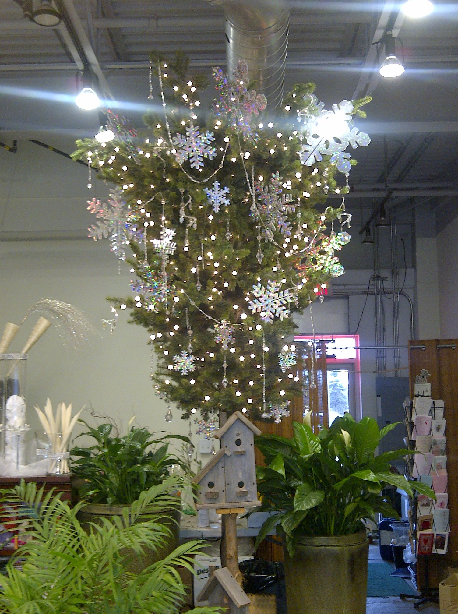 Upside Down Christmas Tree Donna Decorating Ideas
