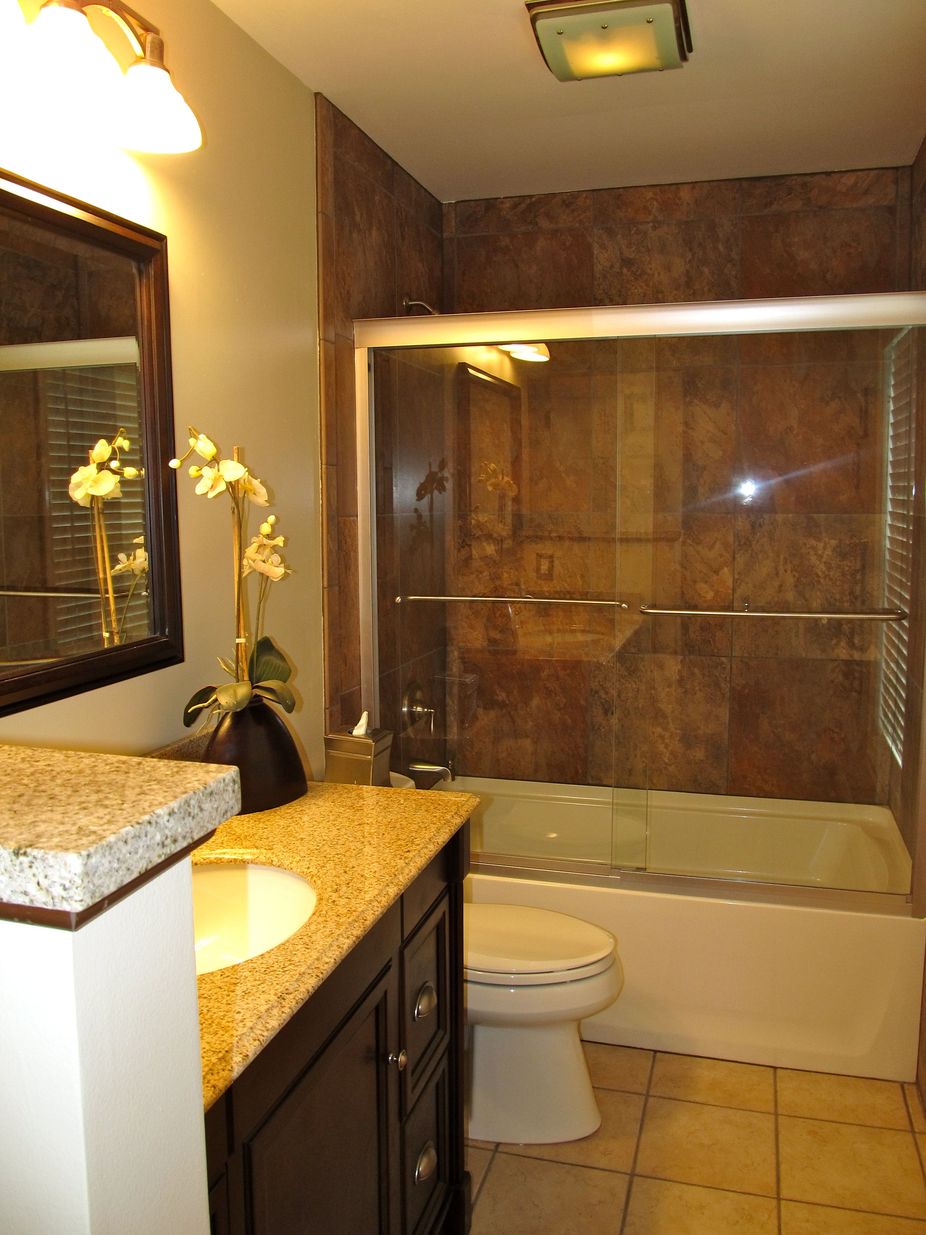 Remodeled guest bath remodeling my home ideas pinterest - Guest bathroom remodel designs ...