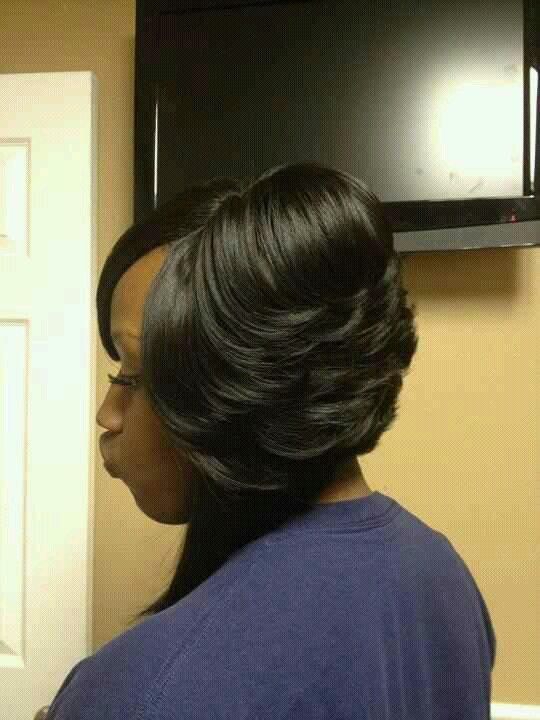 african american little girl braid hairstyles : African American Feathered Bob Hairstyle Pictures LONG HAIRSTYLES
