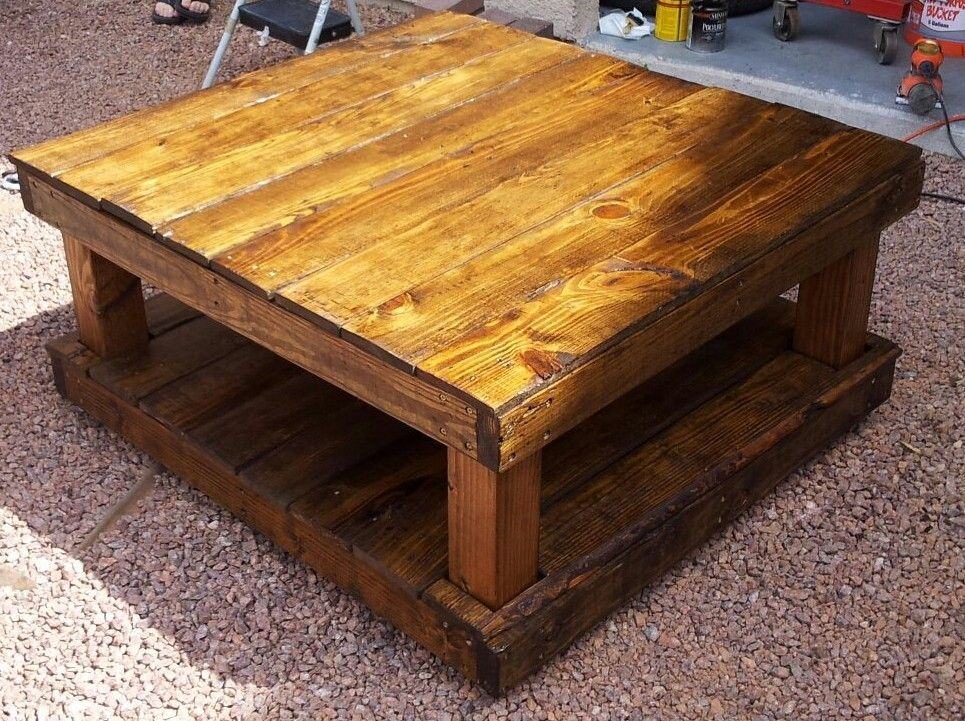 Pallet Coffee Table Craft Ideas Pinterest