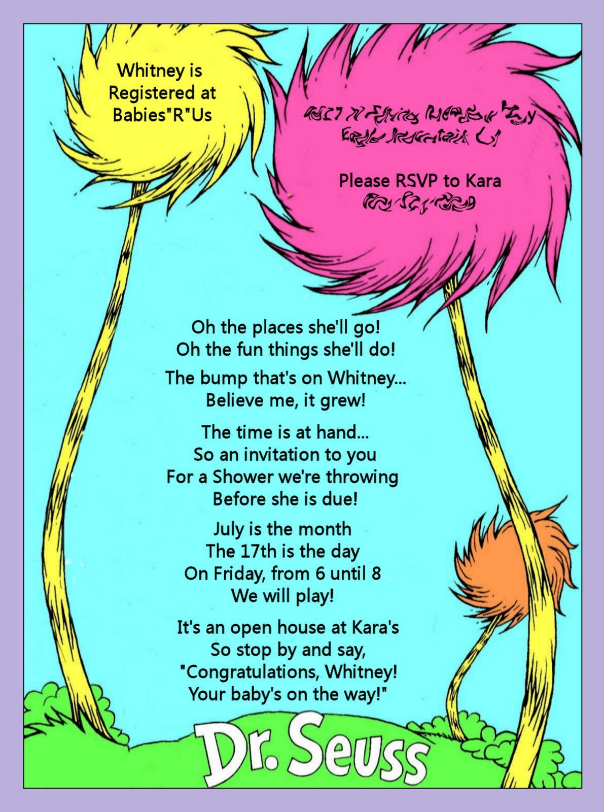 dr suess baby shower baby showers pinterest