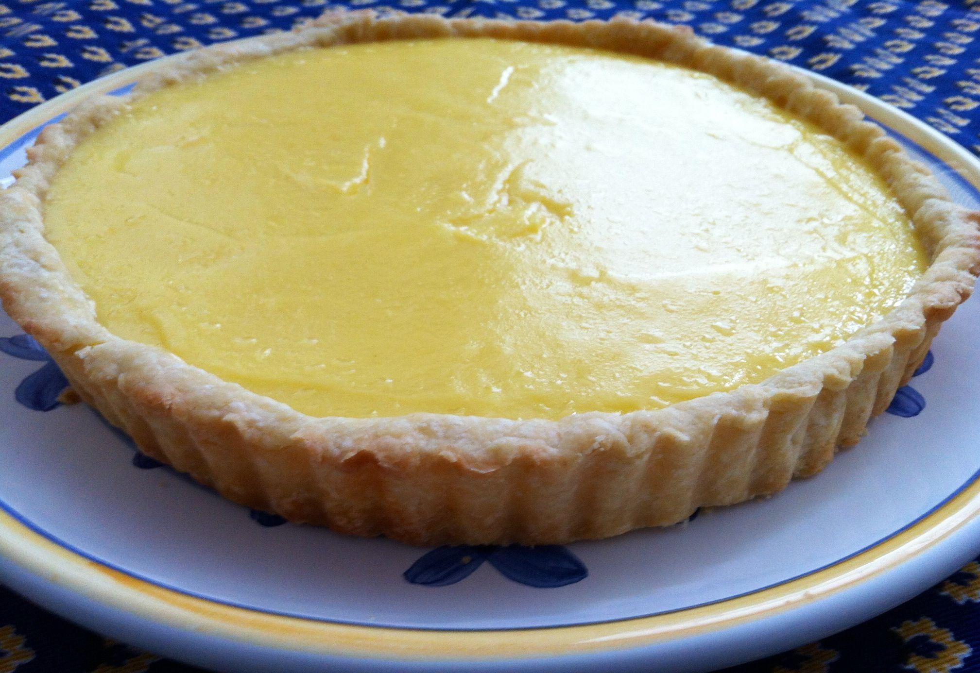 Lemon Curd Tart | MarFood | Pinterest