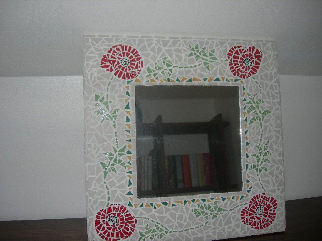 miroir aux coquelicots loisirs creatifs pinterest. Black Bedroom Furniture Sets. Home Design Ideas