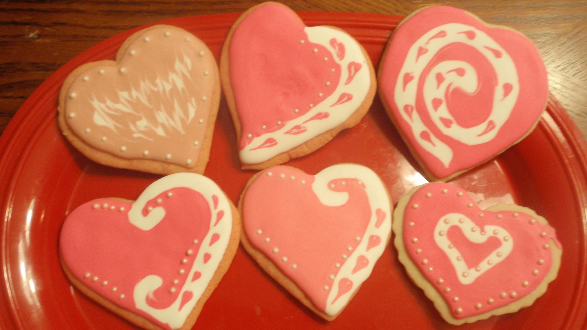 Valentine sugar cookies | Valentine Day Ideas | Pinterest